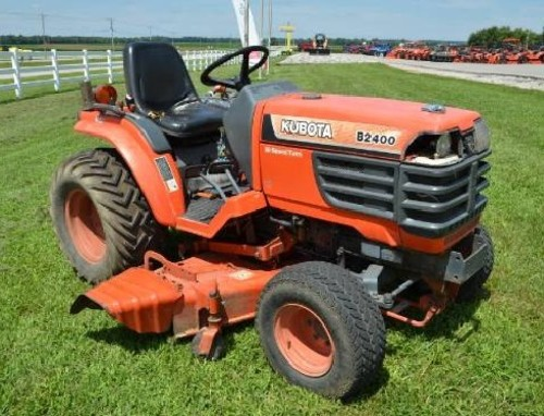 Product picture Kubota B2400HSE Tractor Illustrated Master Parts List Manual DOWNLOAD