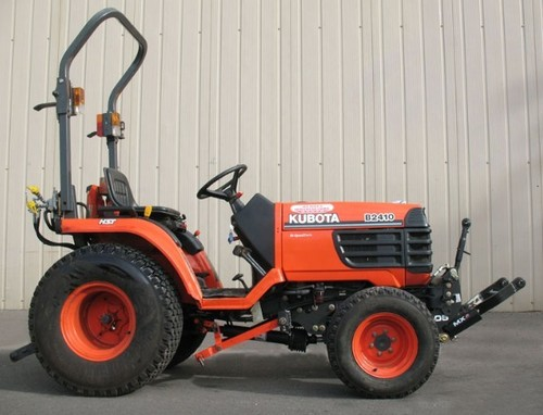 Product picture Kubota B2410HSD Tractor Illustrated Master Parts List Manual DOWNLOAD