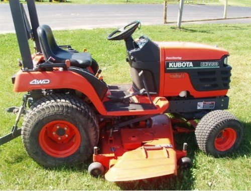 Product picture Kubota BX2200D 2meg Tractor Illustrated Master Parts List Manual DOWNLOAD