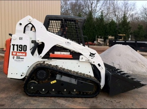 Product picture Bobcat T190 Turbo, T190 Turbo High Flow Compact Track Loader (G Series) Service Repair Workshop Manual DOWNLOAD (S/N 519311001 & Above, 519411001 & Above )