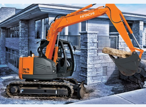 Product picture Hitachi Zaxis 75US Excavator Service Repair Workshop Manual DOWNLOAD