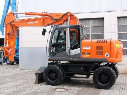 Product picture Hitachi Zaxis ZX 170W-3 190W-3 Wheeled Excavator Service Repair Workshop Manual DOWNLOAD