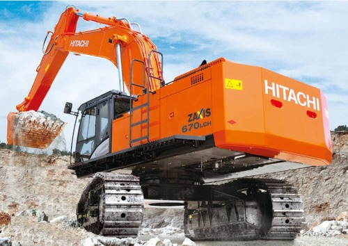 Product picture Hitachi Zaxis ZX 650LC-3, 670LCH-3 Excavator Catalog Parts Manual DOWNLOAD