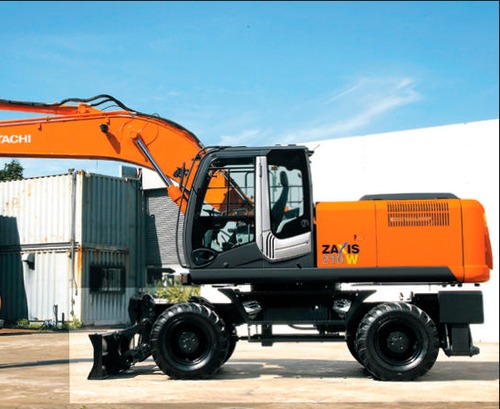 Product picture Hitachi Zaxis ZX210W Excavator Service Repair Workshop Manual DOWNLOAD