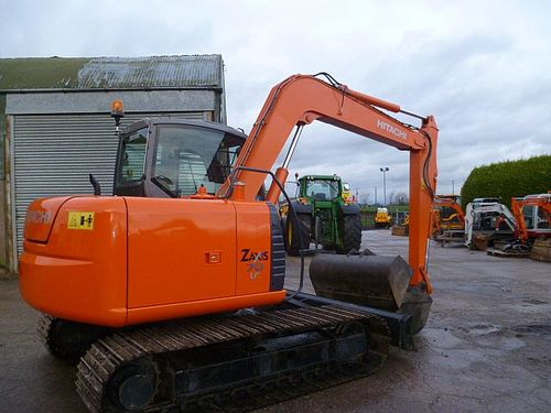 Product picture Hitachi Zaxis ZX70 Hydraulic Excavator Service Repair Workshop Manual DOWNLOAD